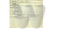 Politiets Registerblade - Sigrid Moss - Nansensgade - 1917
