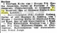 Bryllupper - København - 1. august 1947