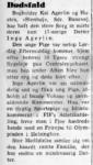 Dødsfald - Inge Agerlin - Frederiksborg Amts Tidende 1953