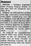 Dødsfald - Ejner Froberg - Randers Dagblad - 25. maj 1971