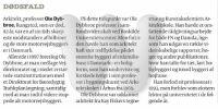 Dødsfald - Ole Dybbroe - 2008 - Politiken