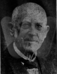 Portræt af Thomas Christian Fauerby ca. 1918